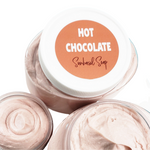 hot chocolate whipped body butter www.sunbasilsoap.com