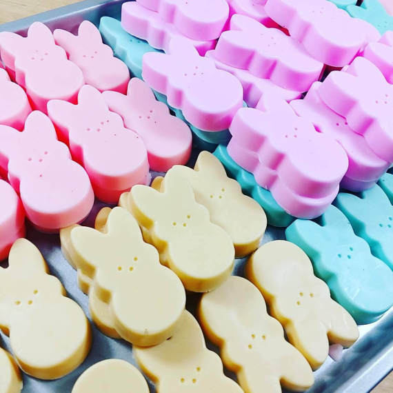 Bunny peep soaps easter basket gifts best friend gifts bunny peep soaps easter basket gifts best friend gifts spring sunbasil soap negle Gallery