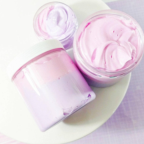 Cotton Candy Whipped Body Butter at Sunbasil Soap