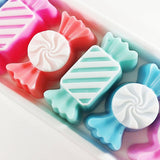 Candy Soaps in candy shapes at Sunbasil Soap