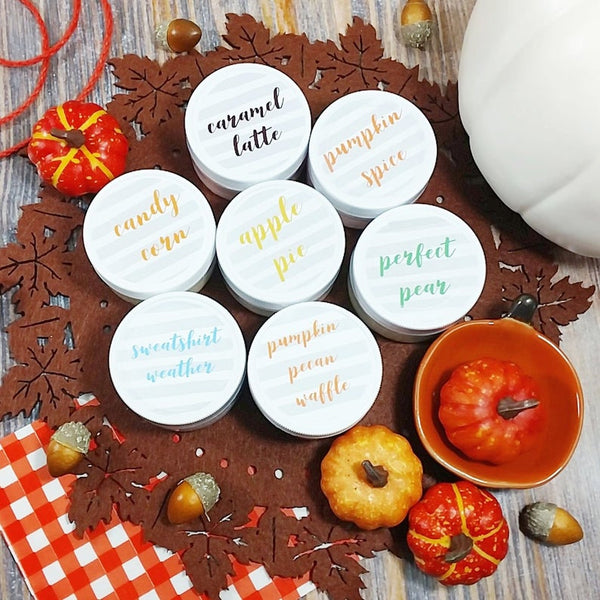 Fall Body Butter Gift Set www.sunbasilsoap.com