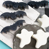 Halloween Bat and Ghost Soap gift set www.sunbasilsoap.com