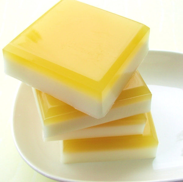 LEMON SQUARES Soap, lemon with a hint of pie - sunbasilgarden  - 4