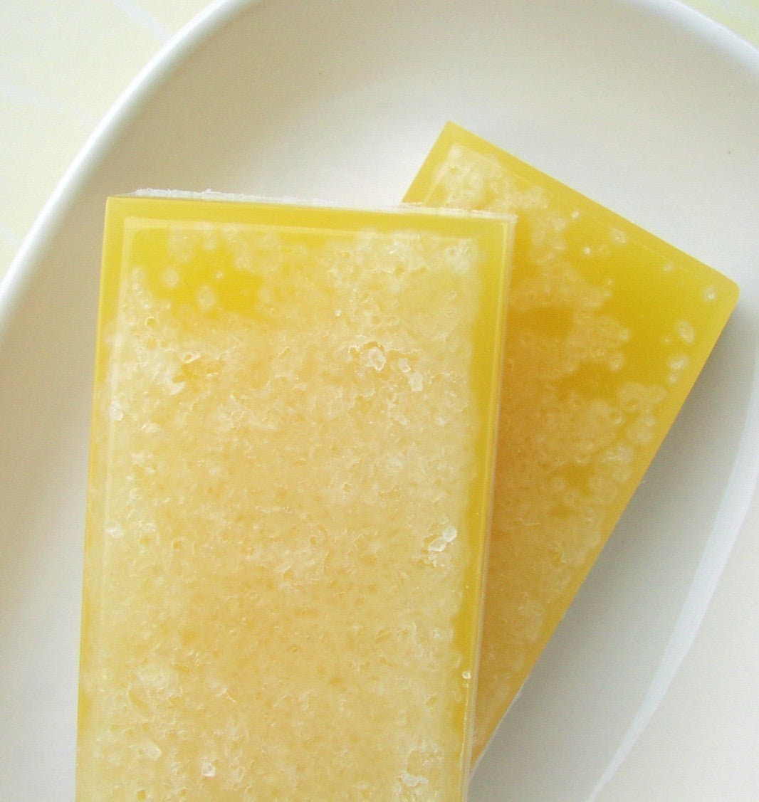 Citrus Lemon Salt bar Soap Bar - sunbasilgarden