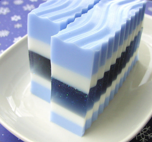 Winter Wonderland Soap for Christmas gifts - Sunbasilgarden