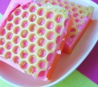 PINK GRAPEFRUIT SUNRISE Soap - sunbasilgarden  - 1