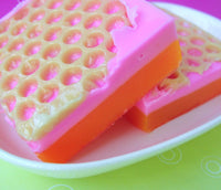 PINK GRAPEFRUIT SUNRISE Soap - sunbasilgarden  - 3