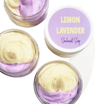 lemon lavender body butter www.sunbasilsoap.com