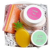 Pineapple Spa Box www.sunbasilsoap.com
