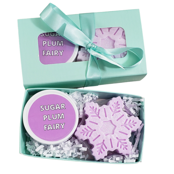 Sugar Plum Fairy Mini Spa Gift www.sunbasilsoap.com