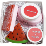 Watermelon Bath and Body Thank You Gift Box www.sunbasilsoap.com