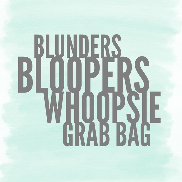 blunders bloopers grab bag of less than perfect soaps bath bombs sugar scrubs for retail at more than half off