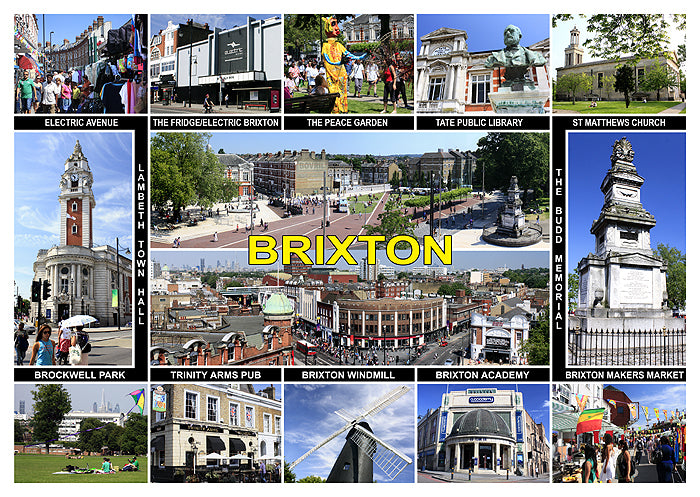 New! Brixton, Peckham, Walworth Postcards