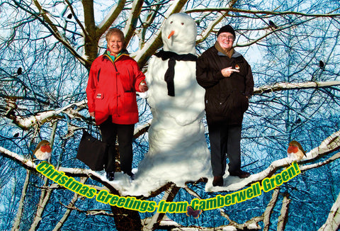 Camberwell Christmas Card - Richard & Lana
