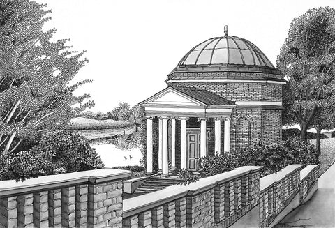 Temple to Shakespeare, Hampton, Middlesex