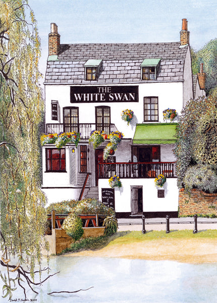 The White Swan, Riverside Twickenham