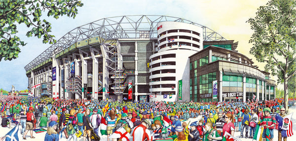 Twickenham Stadium (The Home of England Rugby)