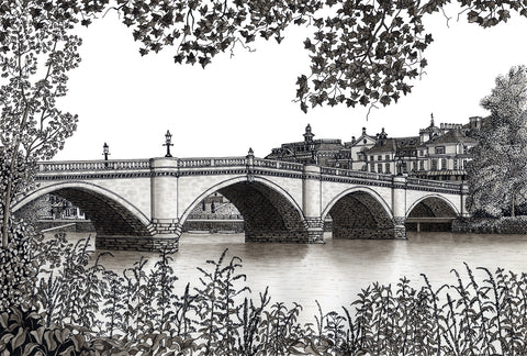 Bridge at Richmond Upon Thames