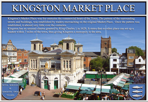 Market Place - Kingston Upon Thames - Colour