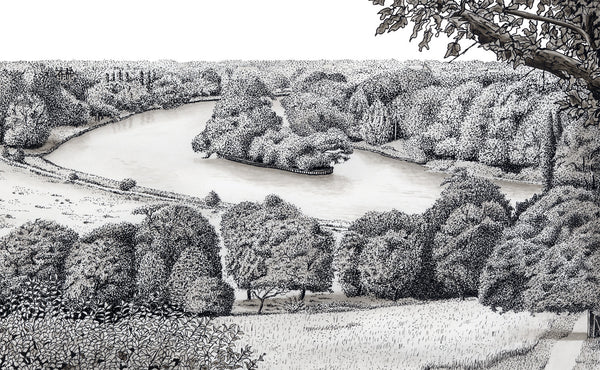 River Thames From Richmond Hill