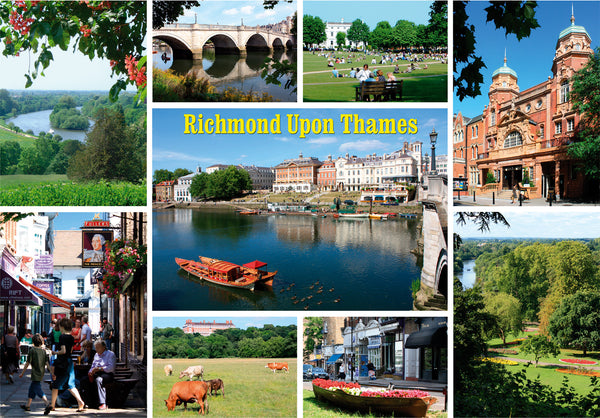 Richmond Upon Thames - Surrey - Montage