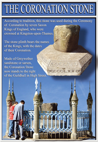 The Coronation Stone, Kingston upon Thames, Surrey