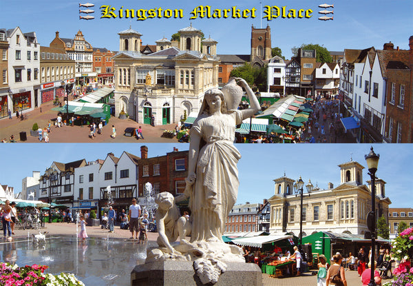 Market Place - Kingston Upon Thames - Montage