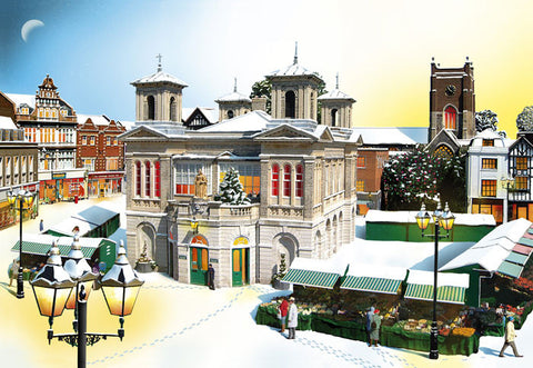 Market Place - Kingston Upon Thames - Christmas Card