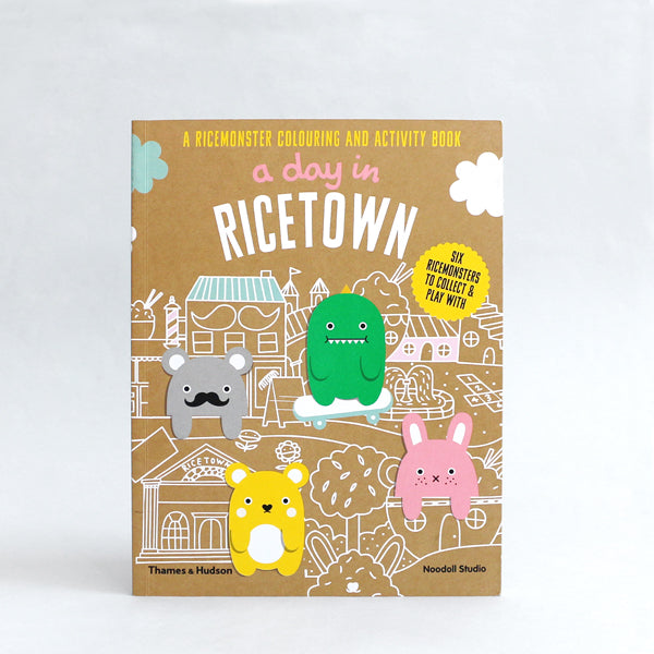 noodoll ricetown activity book