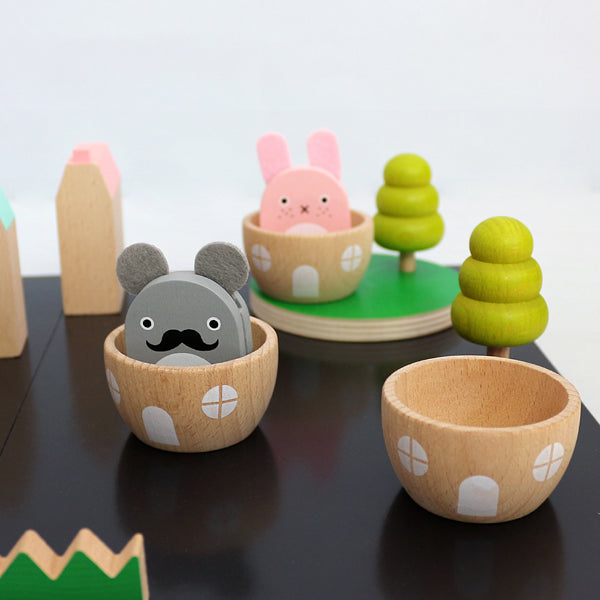 noodoll kiko+ wooden play set
