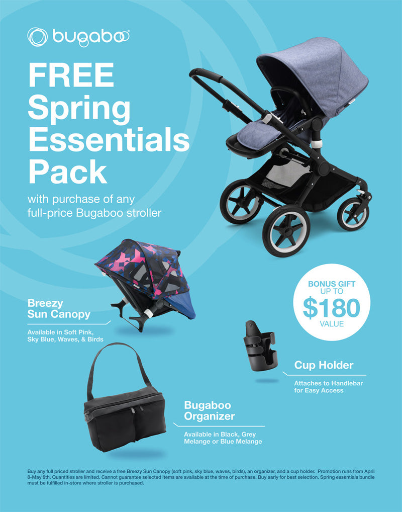 bugaboo free spring essentials pack