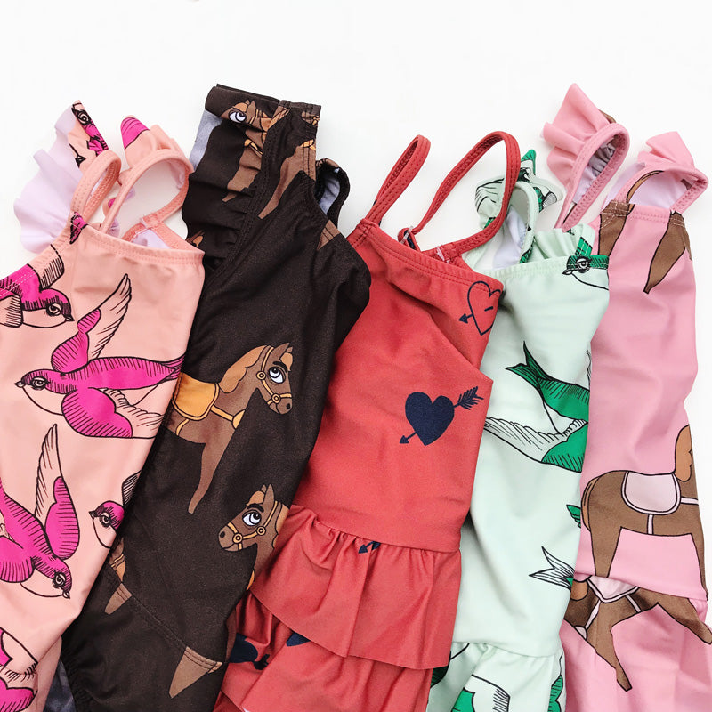mini rodini girl swim ss18