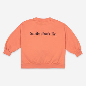 Big Smile Sweatshirt by Bobo Choses