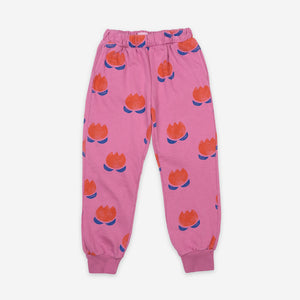 Load image into Gallery viewer, Chocolate Flowers Jogging Pants by Bobo Choses
