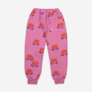Chocolate Flowers Jogging Pants by Bobo Choses