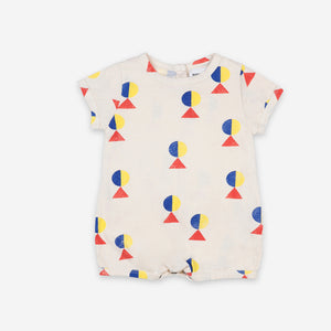 Baby Geometric Playsuit by Bobo Choses