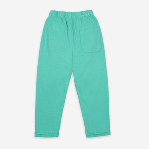 Geometric Embroidery Fleece Pants by Bobo Choses