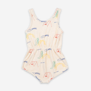 Playground Terry Fleece Playsuit by Bobo Choses