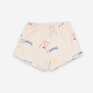 Baby Playground Terry Fleece Shorts by Bobo Choses