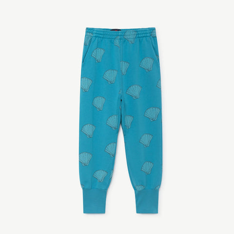 Panther Kids Pant in Blue Shells by The Animals Observatory