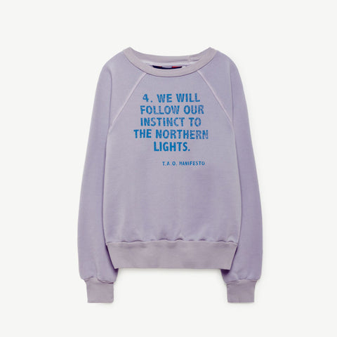 Shark Kids Sweatshirt Lavaland Manifesto by The Animals Observatory