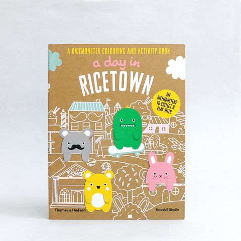 A Day In Ricetown: A Ricemonster Activity Book by Noodoll