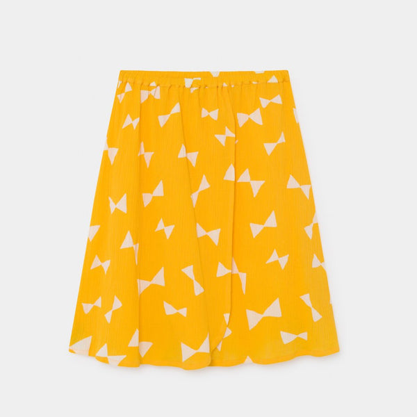 Bow Wrap Midi Skirt by Bobo Choses