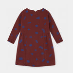 All Over Stuff Fleece Dress by Bobo Choses