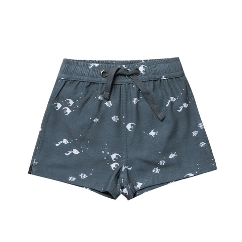 Angel Fish Swim Trunk by Rylee and Cru
