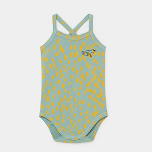 Baby Animal Print Sleeveless Bodysuit by Bobo Choses