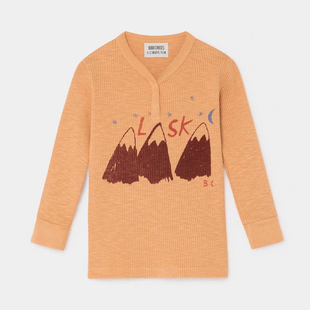 Baby Alaska Buttons T-shirt by Bobo Choses