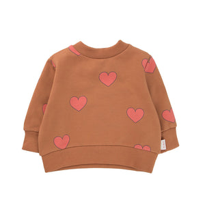 Baby Hearts Sweatshirt by Tinycottons