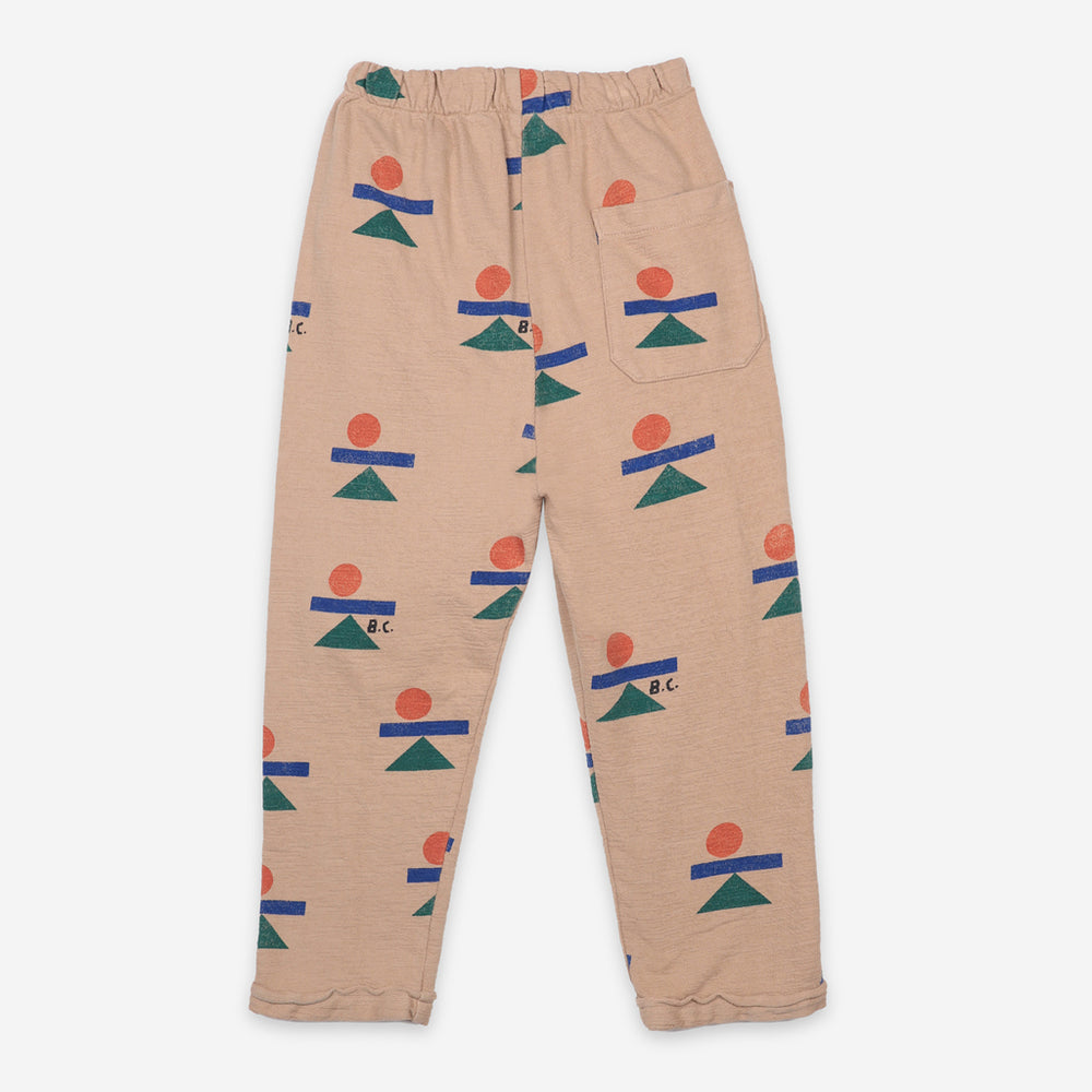 Balance All Over Fleece Pants by Bobo Choses