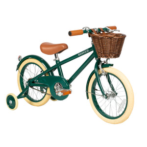 "Load image into Gallery viewer, Classic Green 16"" Banwood Bike"